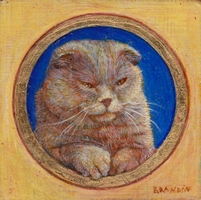 Portrait miniature de chat